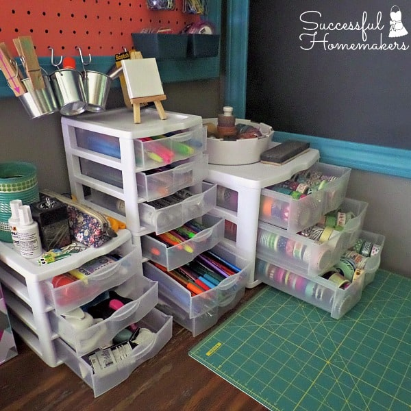 Planner and Craft Room Redo ~ Successful Homemakers