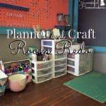 Planner and Craft Room Redo