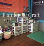 Planner and Craft Room Redo