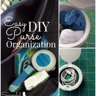 Easy DIY Purse Organization ~ Successful Homemakers