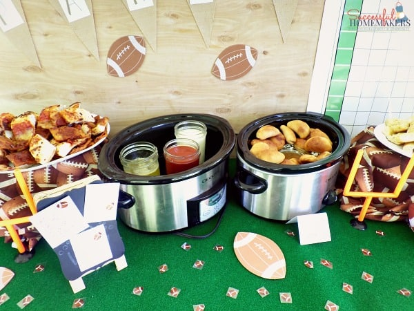 Five Easy Steps to a Killer Football Party! ~ Successful Homemakers