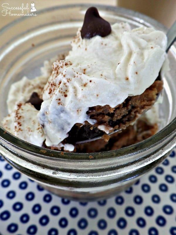 Triple Chocolate Mocha Cheesecake with Caramel Macchiato Whipped Cream ~ Successful Homemakers