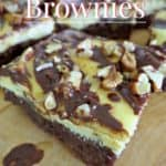Turtle Cheesecake Brownies ~ Successful Homemakers
