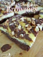 Turtle Cheesecake Brownies