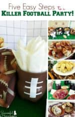 Five Easy Steps to a Killer Football Party!