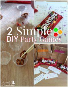 2 Simple DIY Party Games