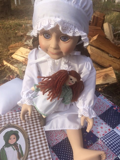 Little House on the Prairie Doll Giveaway ~ Successful Homemakers