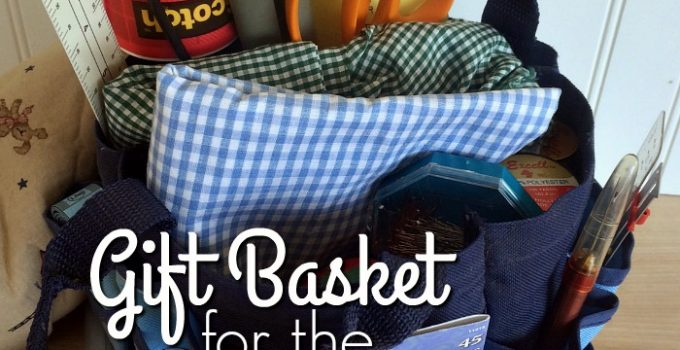 Gift Basket for the New Sewing Enthusiast