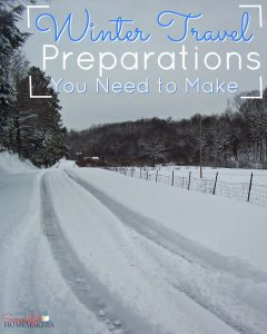 Winter Travel Preparations You Need to Make