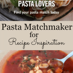 Pasta Matchmaker for Recipe Inspiration- Stumped for supper tonight? This fun quiz will inspire you with fun, new recipes!