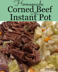 Homemade Corned Beef in the Instant Pot