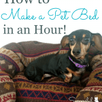 How to Make a Pet Bed in an Hour