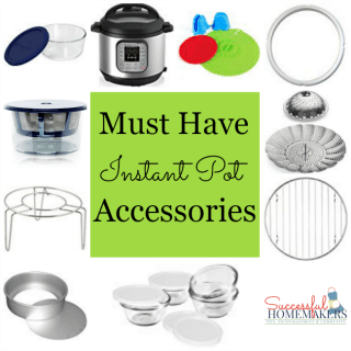 """Now that you have your very own """"Magic Pot,"""" there are a few accessories that will expand the meals you are able to create! #InstantPot"""