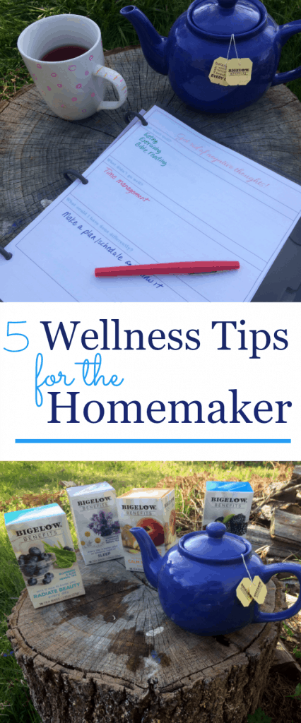 It's time to take care of the homemaker so that she can take care of others. Focus on your wellness and you'll be better able to live a full life.