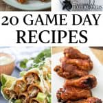 20 game day recipes for you to try!