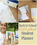 Back to School Dual Enrollment Student Planner