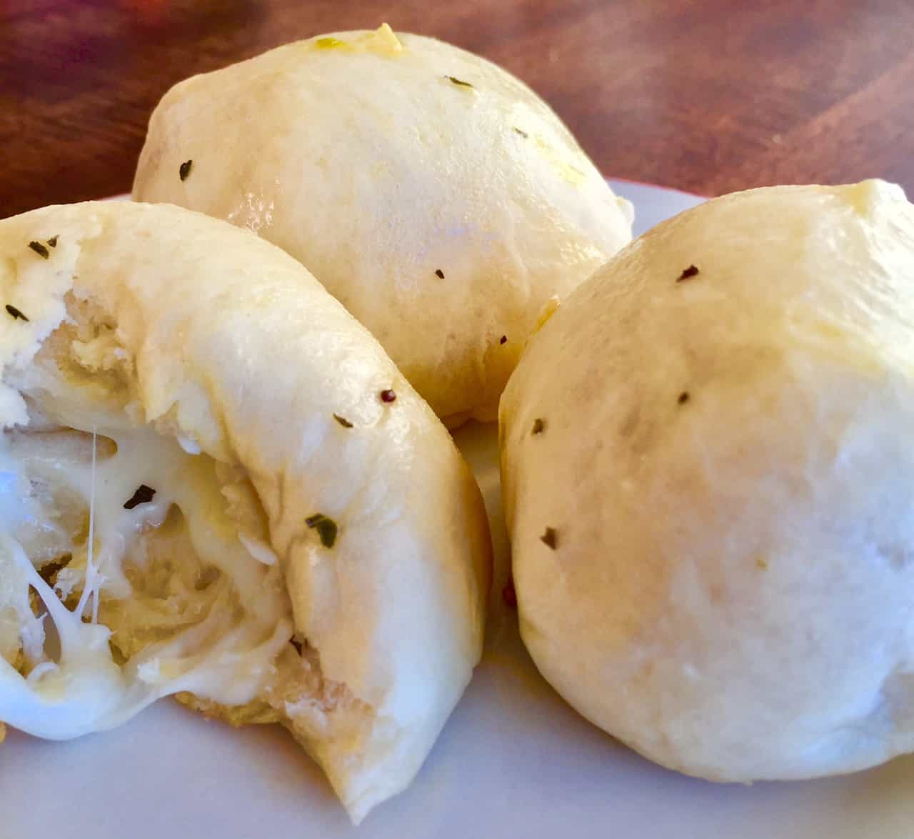 Garlic Herb Cheese Bombs - made with 5 simple ingredients!