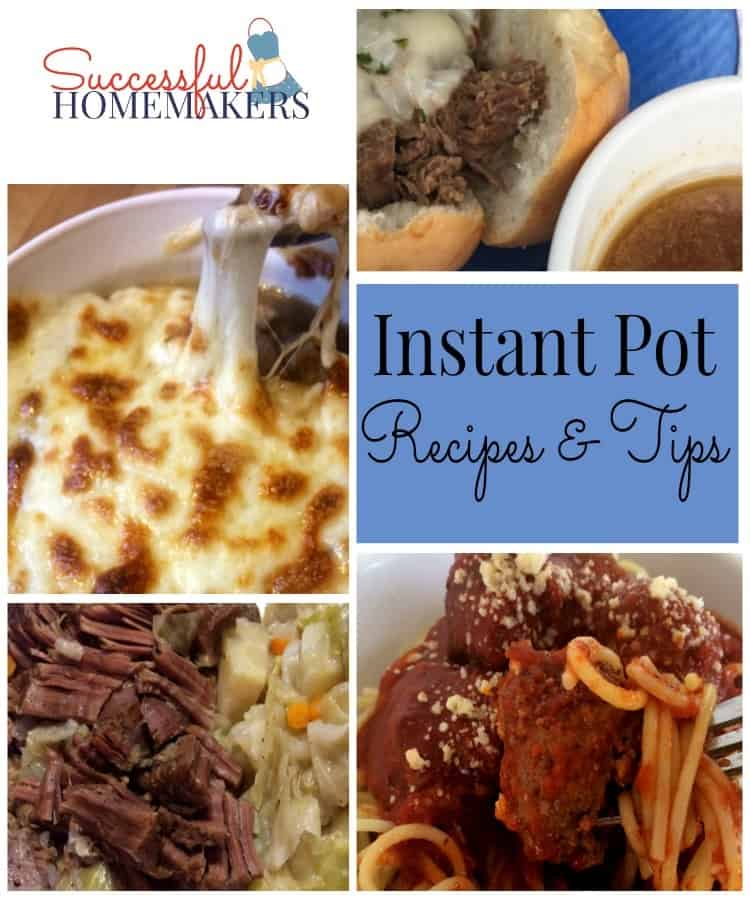 Instant Pot recipes and tips for your favorite kitchen tool.