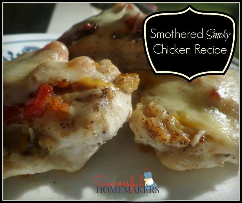 Smothered Smoky Chicken