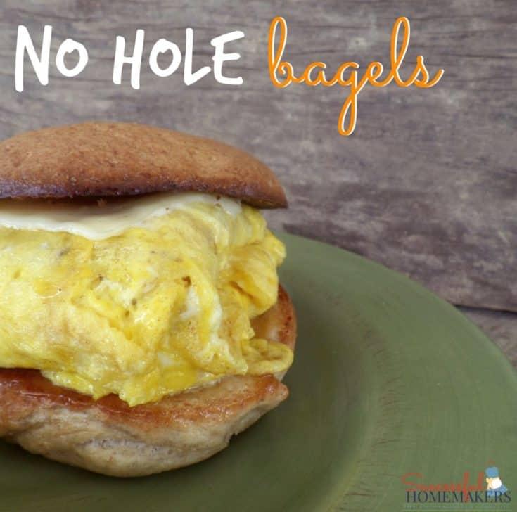 No Hole Bagels