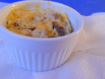 Healthy One-Minute Egg Casserole