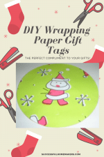DIY: How to Use Scrap Wrapping Paper to Make Gift Tags
