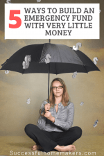 5 Ways to Build an Emergency Fund with Very Little Money