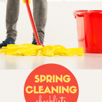 spring cleaning checklists free printables